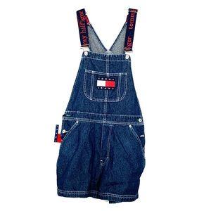 Tommy Hilfiger Tommy Jeans- denim short dungaree
